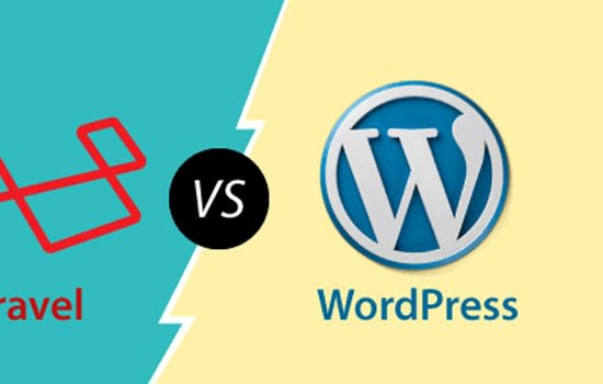 Difference between Laravel and WordPress